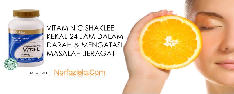 Vitamin Jeragat : Hilangkan Jeragat Dengan Shaklee