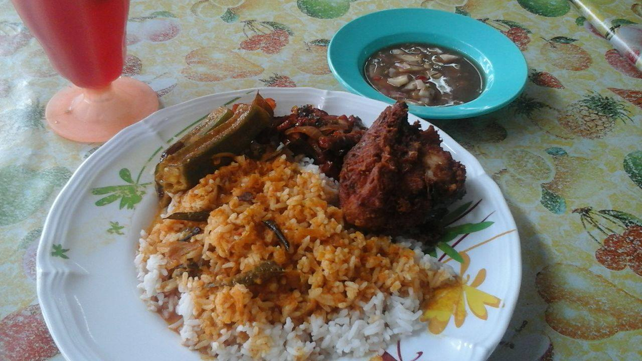 nasi campur ampang for lunch