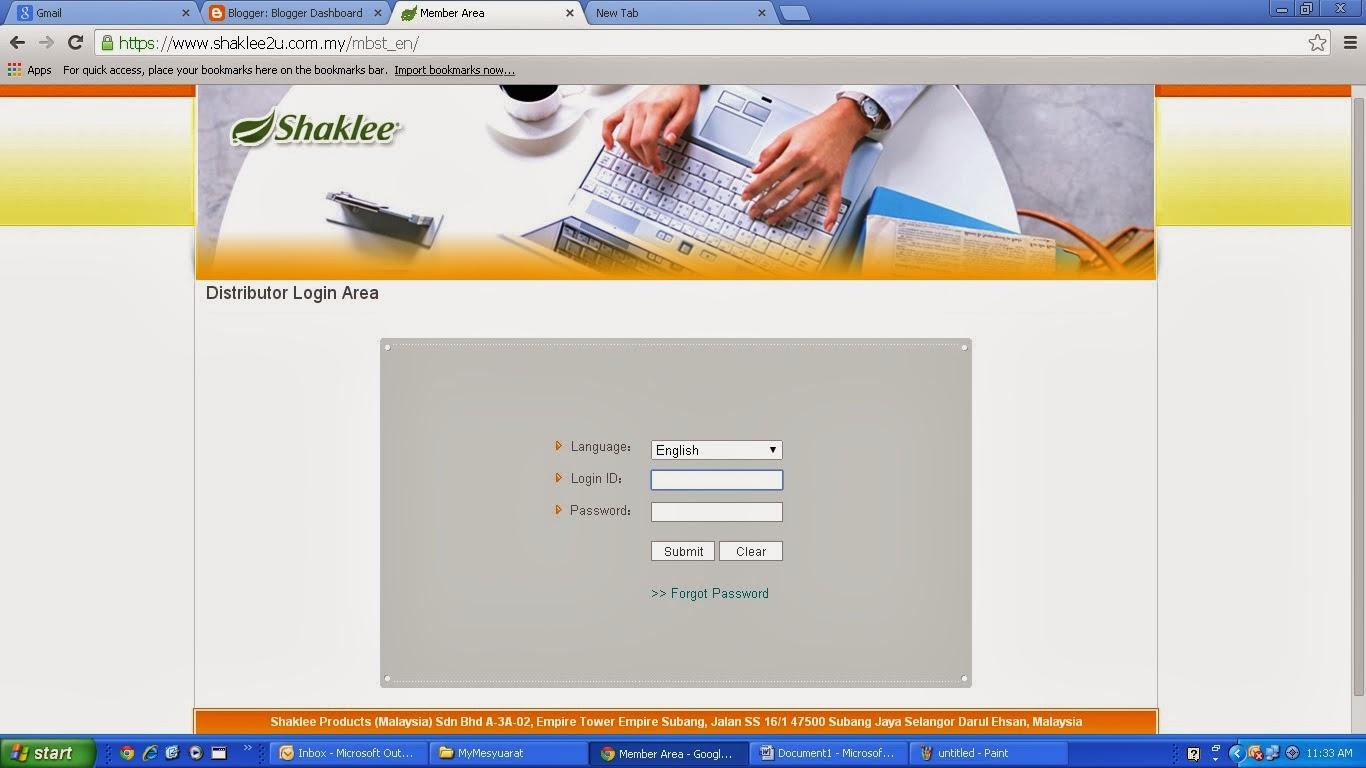 bisnes shaklee online