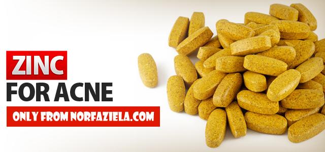 zinc complex rawat luka jerawat